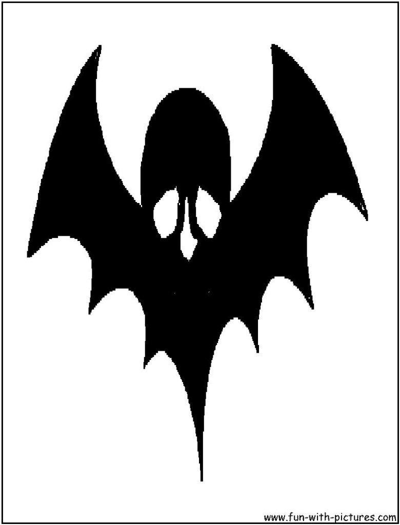 Halloween Silhouette TemplatesHalloween Skull Silhouette