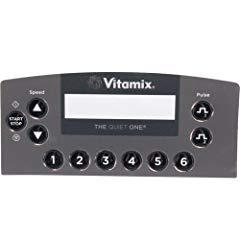 VITA-MIX DISPLAY BOARD OVERLAY 015410