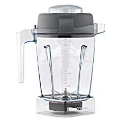 Vitamix 15255 Tritan Copolyester Containers with Wet Blade and Lid 48 oz container
