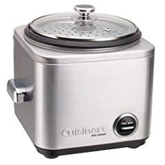 Cuisinart CRC-400 Rice Cooker, Stainless Steel, 4-Cup