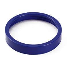 UNIQUEBELLA Colored Lip Ring for Magic Bullet Blender Juicer outside Diameter 3.3 Inch Blue