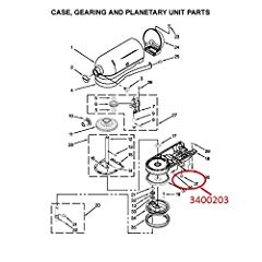 KitchenAid 3400203 Replacement Screw Parts