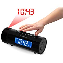 Magnasonic MAG-MM178K AM/FM Projection Clock Radio
