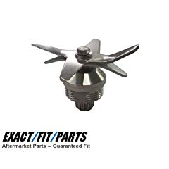 Serrated, Stainless Steel Heavy Duty Replacement Six Blade Assembly for Vitamix 1151 1152