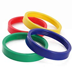 Sduck 4 Colored Lip Ring for Magic Bullet Blender Juicer, 7.5cm