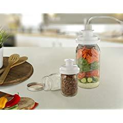 FoodSaver FCARWJAH-000 Kit Wide-Mouth Jar Sealer with Regular Sealer and Accessory Hose