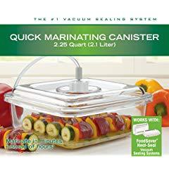 FoodSaver Quick 2.25 quart Marinator