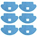 6 PCS Mop Pads Compatible with ECOVACS DEEBOT OZMO 930
