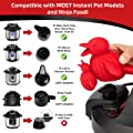 PotHeadz Red Bird Steam Diverter for Instant Pot Accessories compatible with Instapot Lux, Lux