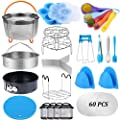 Createy Pressure Cooker Accessories Set Compatible with Instant Pot Accessories 6 qt 8 Quart