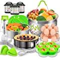 EAGMAK 17 Pcs Accessories for Instant Pot,  6, 8 Qt Pressure Cooker