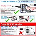T POWER [UL Listed] Ac Dc Adapter Charger Compatible with for Moosoo M X6 XL-618 ,XL-618A , K17