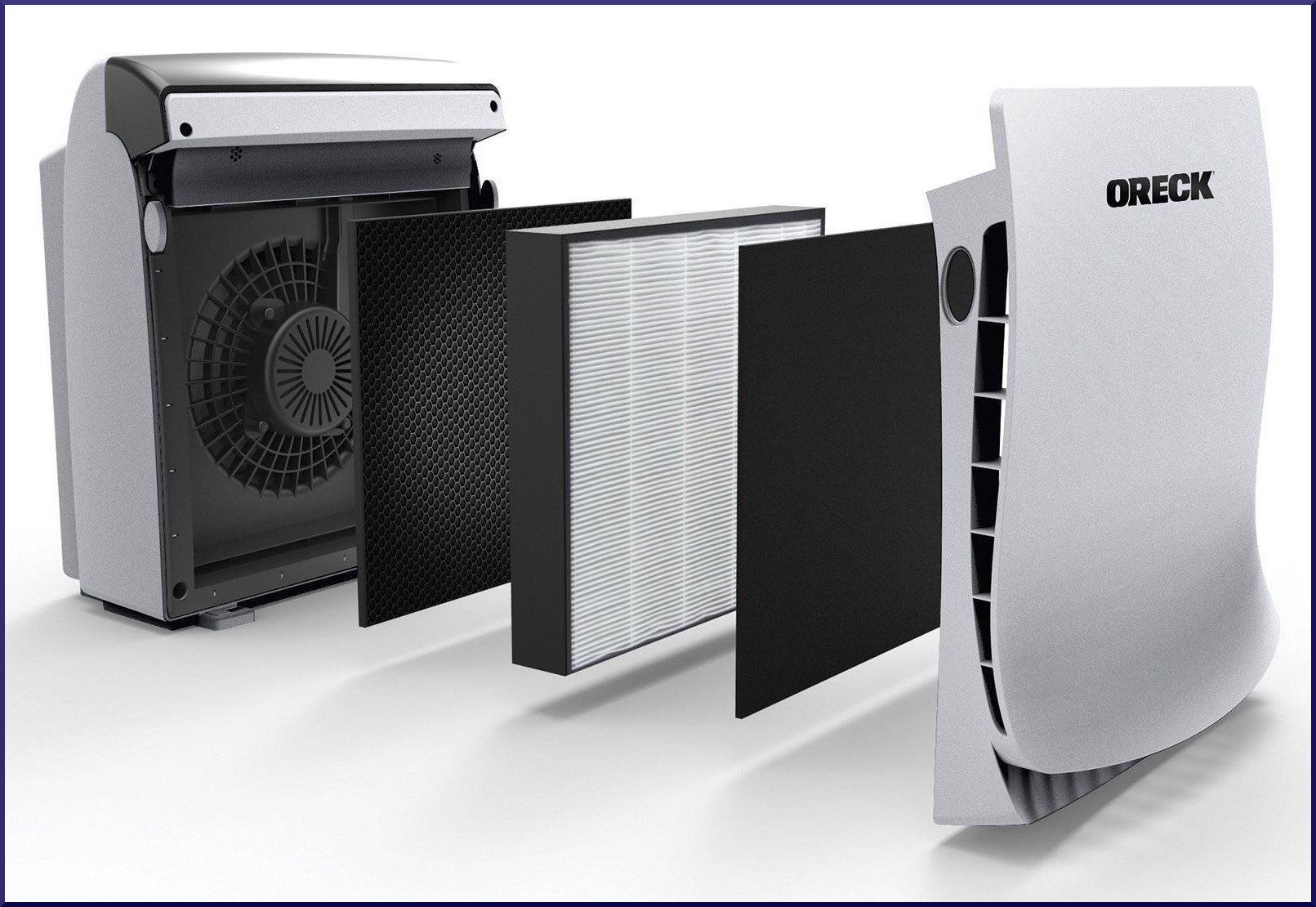 Replacement filters for oreck air purifiers