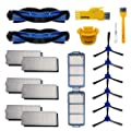 aoteng Accessory Kit with 2 Pcs Main Brushes, 6 Pcs Side Brushes, 6 Pcs Hepa Filters, 2 Pcs Primary Filters, 2 Pcs Cleanning Tools
