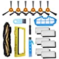 Koveko Ecovacs Deebot N79 N79S Robot Vacuum Cleaner Accessory Kit Including Main Brush, Filter, Primary Filter, Side Brush, Main Brush Cover